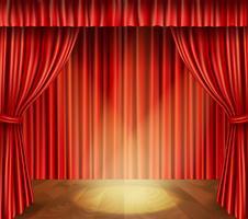 Theaterbühnenhintergrund