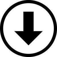 Down-Vektor-Symbol