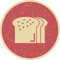 Vektor-Brot-Symbol vektor