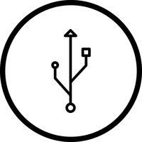 Verbindungs-Vektor-Symbol