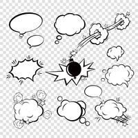 Comic-Sprechblasen