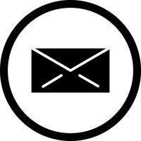 Vektor-E-Mail-Symbol vektor