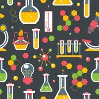 Chemie nahtlose Muster