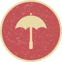 Regenschirm-Vektor-Symbol