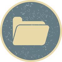 Vektor-Ordner-Symbol