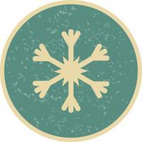 Schneeflocke-Vektor-Symbol vektor
