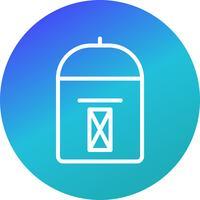 Vector Postbox Ikon