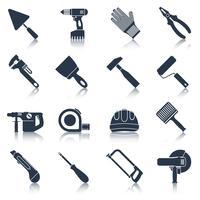 Reparation byggverktyg svart