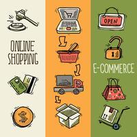 E-Commerce-Design-Skizze Banner