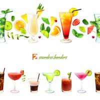 Cocktail nahtlose Grenze