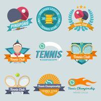 tennis etikett uppsättning