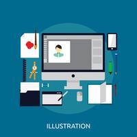 illustration konceptuell design vektor