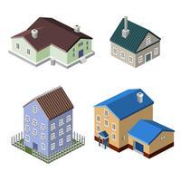 Wohnhausgebäude vektor