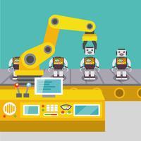 Roboterarmkonzept