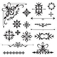 Ornamentale Designelemente