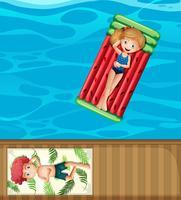 Sommarlov vid poolen