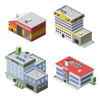 Regeringsbyggnaderna vektor