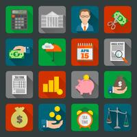 Steuer Icons Set