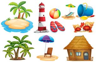 Sommerset mit Insel und Bungalow