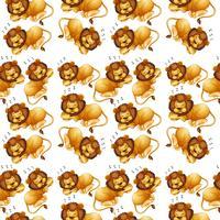 Löwe, der nahtlosen Hintergrund schläft