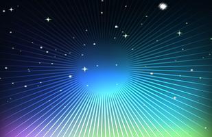 Bakgrundsdesign med stjärnor på natten vektor