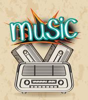 Musik vektor
