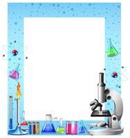 Vetenskap verktyg och behållare