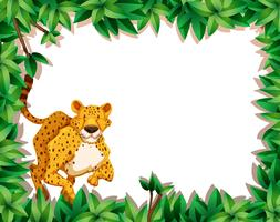 Gepard in der Naturszene vektor