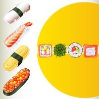 Japansk mat på affischen