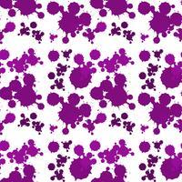 Nahtloses Hintergrunddesign mit purpurrotem Spritzen vektor