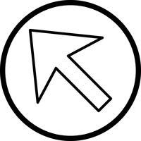 Cursor-Vektor-Symbol