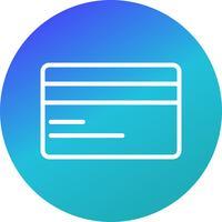 Vektor-Kreditkarte-Symbol