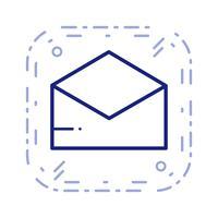 Vektor-Umschlag-Symbol vektor
