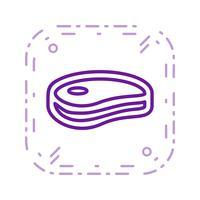 Vektor-Fleisch-Symbol