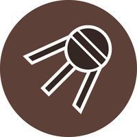 Sputnik-Vektor-Symbol