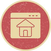 Vektor-Homepage-Symbol
