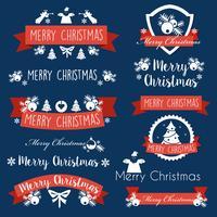 Weihnachtsfest Banner vektor