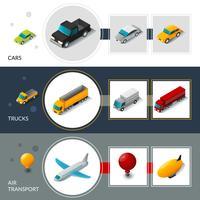 isometriska transportbanderier