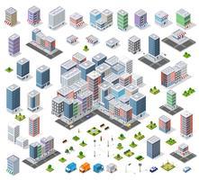 Urban stadsdel vektor