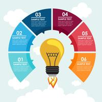 Bulb Rakete Infografik