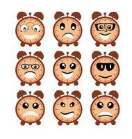 Emoji uttrycksikonikoner
