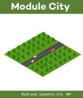 Isometriska moduler för konstruktion