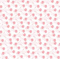 rosa Blumenverzierungsmuster nahtlos vektor