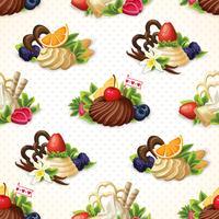 Süßigkeiten nahtlose Hintergrund