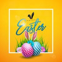 Fröhliche Ostern Illustration