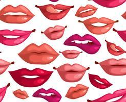 Nahtlose Lippen
