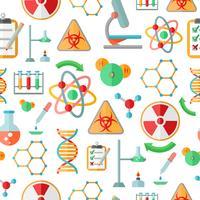 Kemisk forskning sömlös mönster
