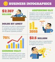 företagslivet infographics vektor