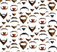 Schnurrbart nahtlos vektor
