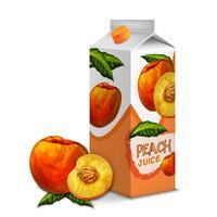 Saftpackung Pfirsich